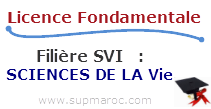Licence Fondamentale SVI SCIENCES DE LA VIE