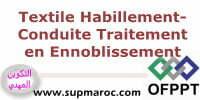 Qualification Conduite des Traitements d'Ennoblissement formations Textile Habillement