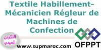 Qualification Mécanicien Régleur des Machines de Confection