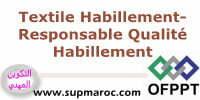 Formation Qualifiante Responsable Qualité Habillement secteur Textile Habillement