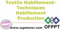 ITA Techniques d'Habillement Production formation Textile Habillement