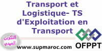 OFPPT ISTA Technicien Spécialisé d'Exploitation en Transport