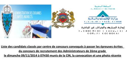 douane 2014
