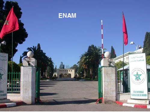 Concours ENAM 2012 ECOLE NATIONALE D'AGRICULTURE DE MEKNES