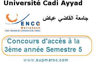 3ème Année ENCG Marrakech