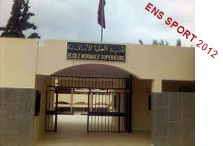 ENS Sport Casa concours 2012