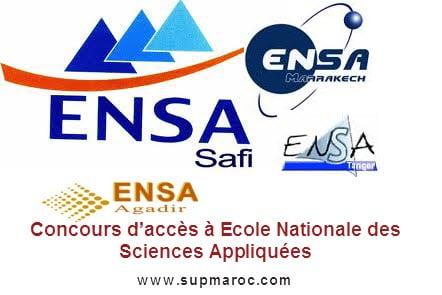 Ecole Nationale des Sciences Appliquées ENSA