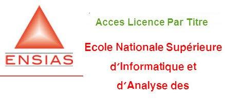 ensias-licence