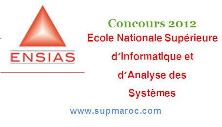 Ecole Nationale Supérieure d'Informatique et d'Analyse des Systèmes