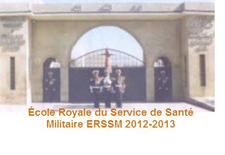 École Royale du Service de Santé Militaire ERSSM