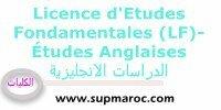 Université Faculté Études Anglaises Licence d'Etudes Fondamentales (LF)