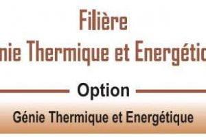EST Filière Génie Thermique et Energétique (GTE)