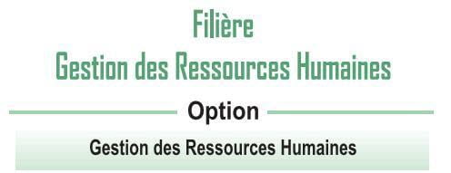 EST: Filière Gestion des Ressources Humaines (GRH)