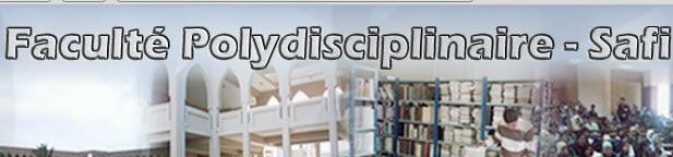 Faculté polydisciplinaire safi licences professionnelles
