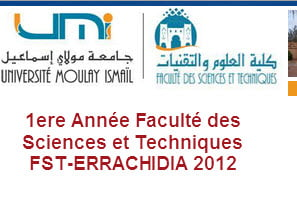 Licence Sciences et Techniques (BCG, MIP) 2012-2013