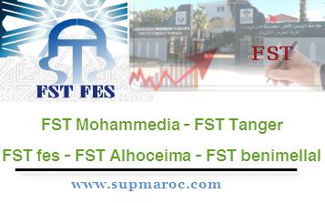 FST faculté des sciences et techniques