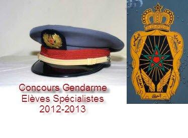 Elèves Gendarmes Spécialistes