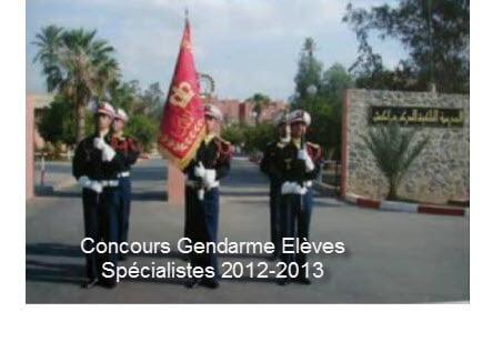 Gendarmerie Royale  Spécialistes  Service Central de Génie