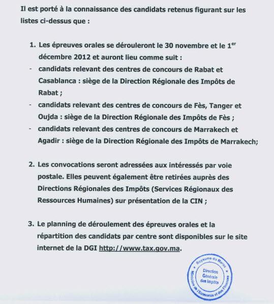 Ministère de l'économie et des finances -Direction Générale des Impôts-