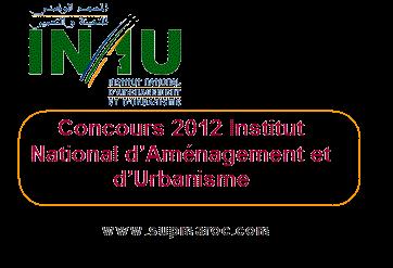 concours INAU 2012
