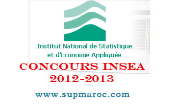 INSEA Concours 2012-2013