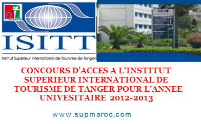Concours ISIT Tanger