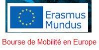 bourse de Mobilité en Europe ERASMUS MUNDUS