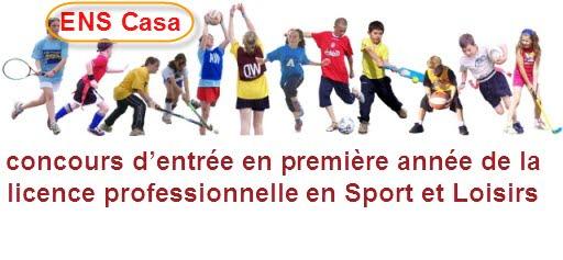 Licence Professionnelle en Sport et Loisir